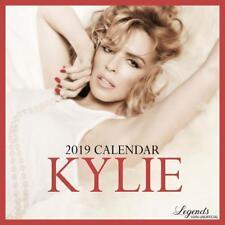 KYLIE MINOGUE CALENDRIER 2019 (CALENDAR) 12 MOIS = 12 PHOTOS INCLUS 1 POSTER NEW
