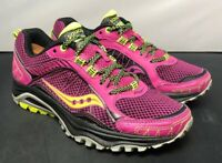 Saucony Excursion TR9 Pink Trail Running Shoes Womens Size 6.5 Fast Shipping