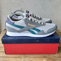 Reebok Royal Classic Jogger 3 Pure Grey Size 9 UK EU 43 Unisex Trainers NEW