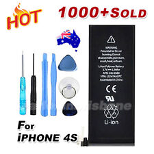 New Black for iPhone 4S 4GS A1387 Replacement Battery 1430mAh Free Repair Tools