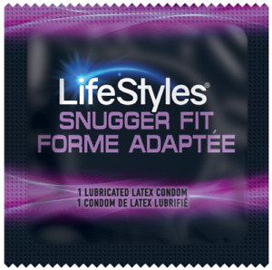 Lifestyles Snugger Fit Small Condoms - Choose Quantity 12-1008