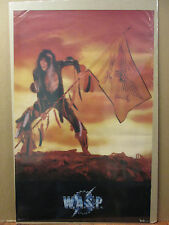 vintage Wasp W.A.S.P rock N' Roll 1985 poster 7645