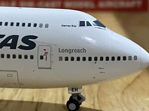 *FREE POST* Gemini Jets 1:400 Qantas Boeing 747-400ER VH-OEH