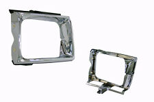TOYOTA HILUX 10/88-9/91 4WD RN105 LN106 CHROME HEAD LIGHT CASE HOLDER RIM - LEFT