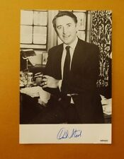 GENUINE AUTOGRAPHED PHOTO ~ POSTCARD SIZE ~ DAVID STEEL [ LIBERALS LEADER ]