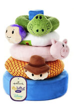 Itty Bittys Baby Disney Toy Story Soft Stacker Rattle Rings Set by Hallmark