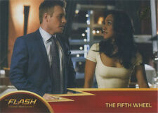 Flash Season 1 Gold Logo Parallel Chase Card #54 The Fifth Wheel