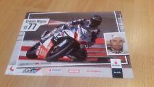 1 Autogrammkarte ERWAN NIGON IDM Superbike Suzuki Motorsport ohne Unterschrift !