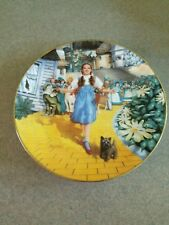 "Wizard of Oz ""Follow the Yellow Brick Road� Limited Edition Plate"