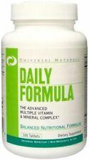 UNIVERSAL NUTRITION DAILY FORMULA 100tab. Vitamins & Minerals