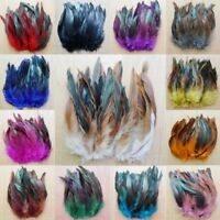 Rooster Tail Feathers Many Colour Fly Craft Hat Arts Decorations Wedding Card UK