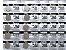 25 Pcs Energizer ECR1616 CR1616 1616 ECR 1616 3V Lithium Button Battery