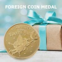 Creative Gold Plating Commemorative Coin Tourism Souvenir Arts Collection Gifts