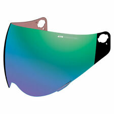 Icon Variant Pro Precision Optics Visor for Motorcycle Helmet in RST Green