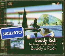 "BUDDY RICH FEAT.LIONEL HAMPTON "" BUDDY'S ROCK "" CD SIGILLATO HD JAZZ 1999"