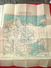 VOYAGE CANADA Exploration Grand Lac des Ours par PETITOT 1893 avec 2 cartes RARE