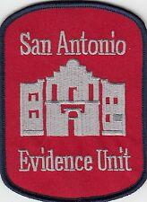 SAN ANTONIO EVIDENCE UNIT POLICE PATCH TEXAS TX CSI