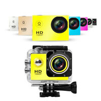 1080P Full HD Outdoor Sport Action Mini Camera Waterproof Cam Go DV Pro Style