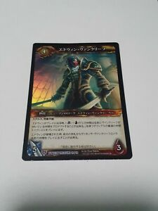 Edwin VanCleef Foreign Epic Foil World of Warcraft WoW TCG Dungeon Treasure