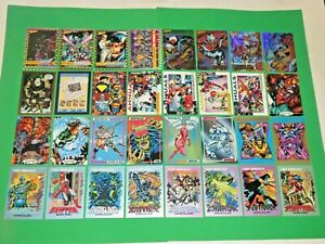 1991-2020 MOVIES TV MARVEL PROMO 376 CARD LOT X-FILES STAR WARS TREK WIZARD DC!