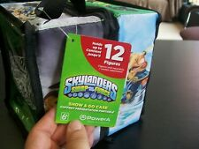 SKYLANDERS Swap Force Show & Go Case; Holds12 Figures; Action Figure Tote; NWT