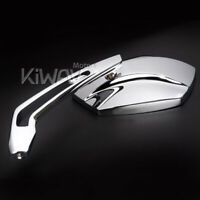 "Rear View Mirrors Palm Chrome 5/16"" for Harley Street 500/750 2015-"