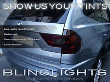 BMW X3 e83 f25 Tinted Tail Lights Smoked Lamp Overlays Kit Vinyl Protection Film