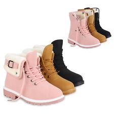 Warm Gefütterte Damen Stiefeletten Fell Outdoor Boots Winterschuhe 813823 Schuhe