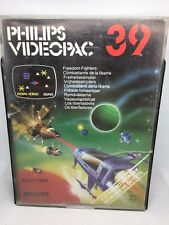 1982 Philips G7000 Videopac 39 Freedom Fighters Magnavox Odyssey 2 Jopac