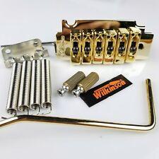 NEW Vintage Wilkinson WVS50K Gold guitar Tremolo Bridge kit