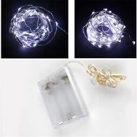 20/30/40 Battery Micro LED String Fairy Lights Christmas Wedding Bedroom Decor