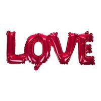 Love Foil Balloon Inflatable Valentines Wedding Engagement 15cm - Day Ballon