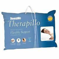 Dunlopillo Therapillo Flexible Support Memory Fibre Firm Pillow