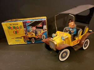 1961 HUBLEY MR. MAGOO CAR BOXED VINTAGE BATTERY OPERATED