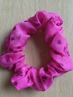 Un Carino Rosa Mini Elastico per Capelli Fascia Coda di Cavallo / con Pon