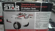 NS Tow-Behind Trailer Boom Broadcast and Spot Sprayer 21-Gal., 2.2 GPM, 12V DC