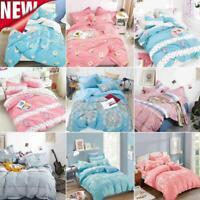 Fashion Bedding Set With Duvet Cover Pillow Cases Quilt Cover Set DIY Floral