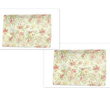 2 Martha Stewart Everyday Floral Curtains Pair Panels Drapes 60 Discontinued htf