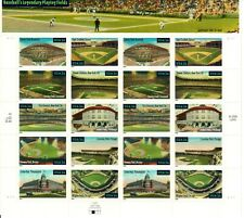 Scott 3510-19 Baseball's Legendary Playing Fields Mnh Free shipping in the Usa!