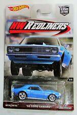 Hot Wheels 2017 car culture hw redliners 68 copo camaro blue 1:64 #3 / 5