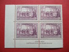 More details for sg195 1937 australia george vi 150th anni new south wales 9d block x 4 mnh / mm