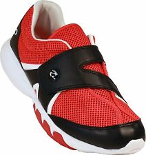 Zeko Lightweight Fishing, Boating, Outdoor and Athletic Drainable Red Shoe