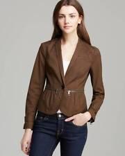 Burberry Brit Oregano Dark Green Bethersden Cotton Jacket NWT US 2 UK 4 EU 36