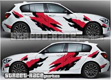 BMW RALLY 002 splatter racing decals stickers graphics vinyl