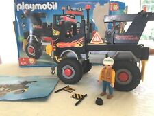 PLAYMOBIL 4097 in BOX - Vintage Power Truck, Driver And Accessories