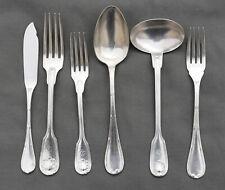 CHRISTOFLE Messageries Maritimes cuillère fourchette couteaux  métal argenté