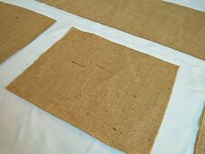 Hessian table runner with 6 placemats
