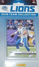 Detroit Lions 2018 Panini Factory Sealed Team Set Stafford Kerryon Johnson Rc