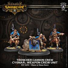 Warmachine - Cygnar: Trencher Cannon Crew PIP31058 Privateer Press NEW