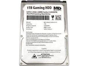 """MDD 1TB 5400RPM 9.5mm 2.5"""" SATA 3.0Gb/s Gaming PS3/PS4 Internal Hard Drive"""
